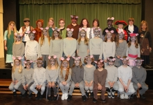 The cast from Felsted Preparatory School, Years 5 & 6